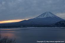 富士山〜夜明け by α700