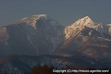 春を待つ磐梯山 by α700