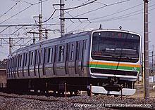E231系:東鷲宮−栗橋間