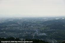 関東平野の端から端へ