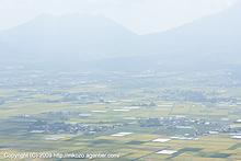 大観峰から阿蘇を望む