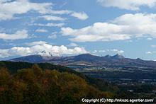 秋から冬へ〜冠雪する赤城山